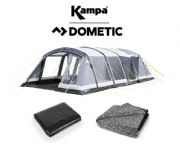 Kampa Croyde 6 Air Tent 2020 (Inc: Carpet + Footprint